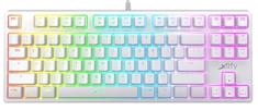 Xtrfy K4 TKL RGB, Kailh Red, US, biela (XG-K4-RGB-TKL-WH-R-US)
