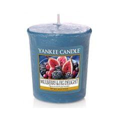 Yankee Candle Aromatická votívny sviečka Mulberry & Fig Delight 49 g
