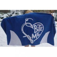 Born To Swim Valentýnský ručník z lásky a mikrovlákna - modrý