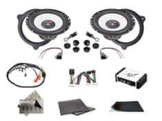 Audio-system SET - kompletní ozvučení do Renault Latitude (2010-2015) - UPGRADE 1