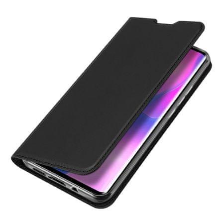 Dux Ducis Skin Pro bőr könyvtok Xiaomi Mi Note 10 Lite, fekete