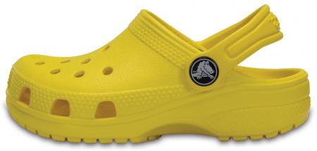 Crocs Gyermek papucs Classic Clog K 204536-7C1, 33/34, sárga