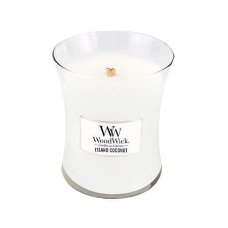 Woodwick Coconut illatgyertya üvegben 275 g
