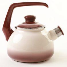 Metalac čajová kanvica s píšťalkou, 1,7 l, cappuccino