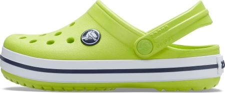 Crocs Gyermek papucs Crocband Clog K 204537-3TX, 27/28, zöld