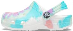 Crocs Gyermek papucs Classic Tie Dye Graphic Clog K 205451-6SN
