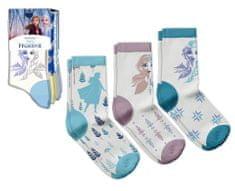 """EUROSWAN Dievčenské vysoké ponožky """"Frozen 2"""" - 3ks v balení tyrykosvá"""