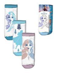 """EUROSWAN Dievčenské členkové ponožky """"Frozen 2"""" - 3ks v balení"""