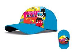 """EUROSWAN Chlapčenská šiltovka """"Mickey Mouse"""" - modrá"""