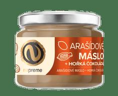 Nupreme Arašídové máslo s hořkou čokoládou 220g