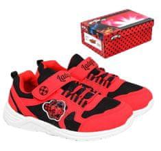 """SETINO Lányok cipők """"Miraculous"""" LED - piros"""