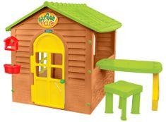 Mochtoys Záhradný domček so stolčekom