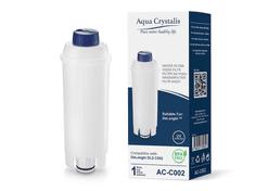 Aqua Crystalis Vodní filtr AQUA CRYSTALIS AC-C002 do kávovarů značky DELONGHI - kompatibilní DELONGHI DLS C002 1ks