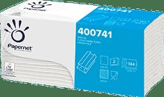 Papernet 400741 Skladané c utierky (20ks balíkov v kartóne)