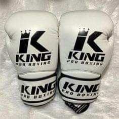 King Boxerské rukavice KING Pro Star4 - bílé
