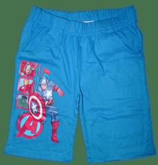 Avengers Chlapecké sv. modré bavlněné kraťasy Avengers.