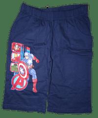 Avengers Chlapecké modré bavlněné kraťasy Avengers.
