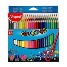 Maped Ołówki trójdzielne 48 kolorów, odwzorowane kolor pep ' s