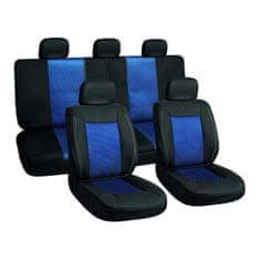 Harmony navlake za sjedala, 11 dijelova, crno-plave