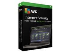 Antivirová ochrana AVG Internet Security pro domácího uživatele na 1 zařízení a na 24 měsíců (BOX)