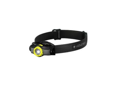 LEDLENSER MH3 čelna svetilka, črno-rumena