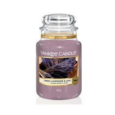 Yankee Candle Dišavne sveče velika Dried Lavender & Oak 623 g
