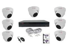 Monitorrs Security STARVIS IP 7 kamerový set 2 Mpix Dome