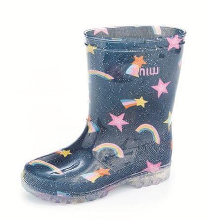 Wink BD11421 svjetleće čizme za djevojčice, tamno plave, 22