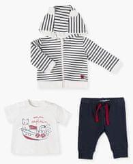 Losan chlapecký set mikiny, trička a tepláků 11V-8019AL