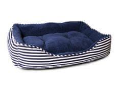 Petproducts Pruhovaný psí pelíšek - 75x54 cm