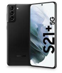 Samsung Galaxy S21+ 5G mobilni telefon, 8GB/128GB, fantomsko črn