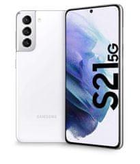 Samsung Galaxy S21 5G mobilni telefon, 8GB/128GB, fantomsko bel