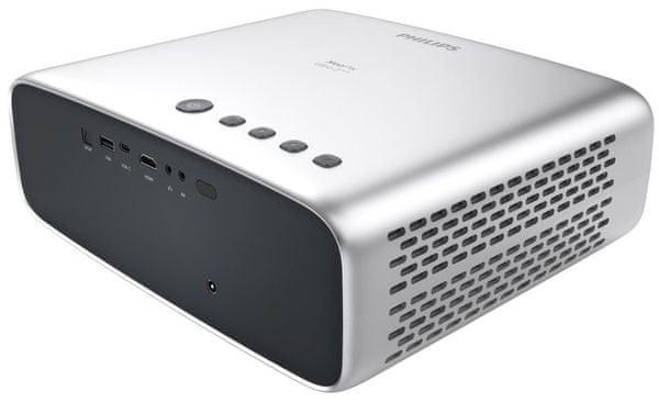 Projektor Philips NeoPix Prime 2 (NPX542) HDMI 3,5 mm jack Wi-Fi Bluetooth USB VGA compatibility multimediální přehrávač