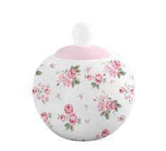 Isabelle Rose Cukřenka porcelánová s designem Lucy