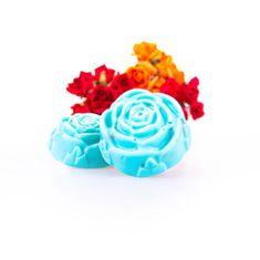 WeAreSoap London Luxusní mýdlo ve tvaru růže Mořský vánek