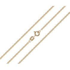 Brilio Dámský zlatý řetízek 42 cm 271 115 00368