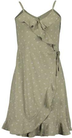 Blue Seven lány átlapolt ruha 528079 X_1, 140, zöld