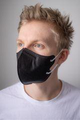 PARDAM NANO4FIBERS PARDAM - český výrobce respirátorů BreaSAFE Nanovlákenný respirátor FFP2 BreaSAFE® černý   5ks Barva: černá, Velikost: M