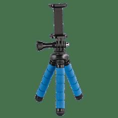 Hama Flex mini postolje za fotografije za pametni telefon/GoPro, 14 cm, plavo