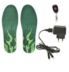Alpenheat Vyhrievané vložky do topánok Alpenheat Wireless Hotsole veľkosť L