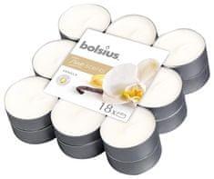 Bolsius Sviecky bolsius Tealight True Scents, vanilka, bal. 18 ks