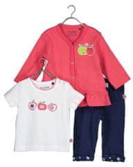 Blue Seven 422125 X kompletu za djevojčice s majicom, hlačama i jaknom