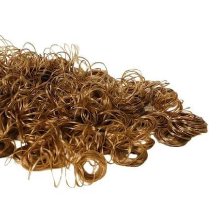 """Kraftika Włosy dla lalek """"curly"""" 70 gramów"""