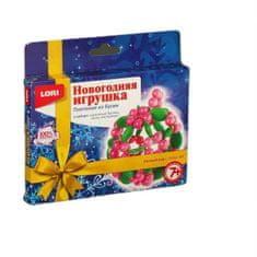 """Lori Novoroční hračka. tkaní z korálků """"vánoční koule"""""""