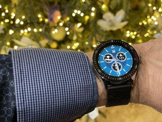 moderné inteligentné hodinky Carneo gtr Man krásne prevedenie vymeniteľný remienok Bluetooth 5.0 technológia 7 športových režimov tep kalórie krokomer merač vzdialenosti monitoring spánku pohybový senzor prehrávanie hudby fotenie pomocou hodiniek len 11 mm tenké anti lost funkcie IP67 krytie odolné vode a potu