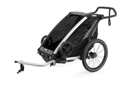 Thule Chariot Lite 1 otroški voziček, Agave