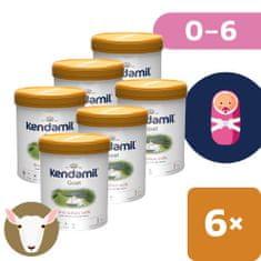 Kendamil Kozie dojčenské mlieko 1 (6x 800 g) DHA+