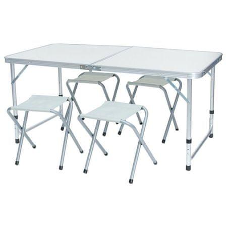 Timeless Tools Kemping asztal 4 székkel
