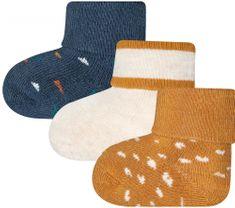 EWERS dívčí 3pack kojeneckých ponožek 205211