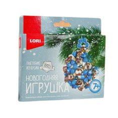 """Lori Vánoční hračka z korálků """"frosty pattern"""""""